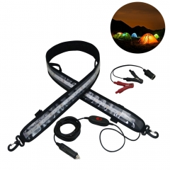 1200MM LED Camping Flexible Strip Light 12V DC Waterproof LED Camping Light Strip 120CM 60CM for RV Caravan Awning Tent