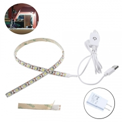 Sewing Machine Adhesive LED Lighting Strips with Touch Dimmer 5V USB Power Supply 3M Adhesive Tape Clip3 Fits for All Sewing Machines