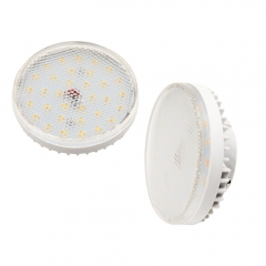 Gx53 6W LED Bulb Ceiling Down Light Cabinet Lamp LED Puck Light for Gx53 CFL Bulb Replacement,Non-Dimmable for cabinet, wardrobe lighting etc (2-Pack)