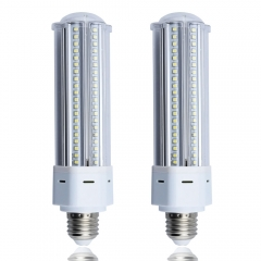 22W LED Corn Light Medium Srew Base E26 LED High Bay Corn Bulb Equivalent to 42W CFL/Compact Fluorescent Lamps for Street Garage Factory Warehouse