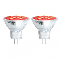 MR11 GU4 Coloured LED Spotlight 2W Red/Green/Blue Spot Light Bulbs for Wall Washer Lamps, Landscape Lighting, Decorative Lighting, Mood Lighting